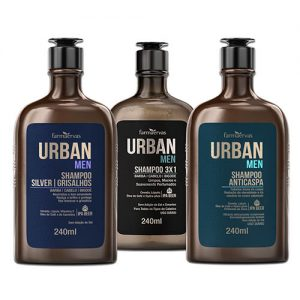 Shampoo Masculino Urban Men 240ml - Farmaervas